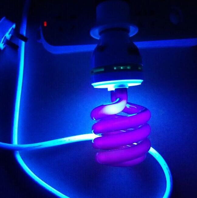 2018 40w Ultraviolet Blacklight Lamp Black Light Bulb E27 /Purple Stage  Fluorescent Light Show Uv 220v Ac From Fighting2015, $18.6 | Dhgate.Com
