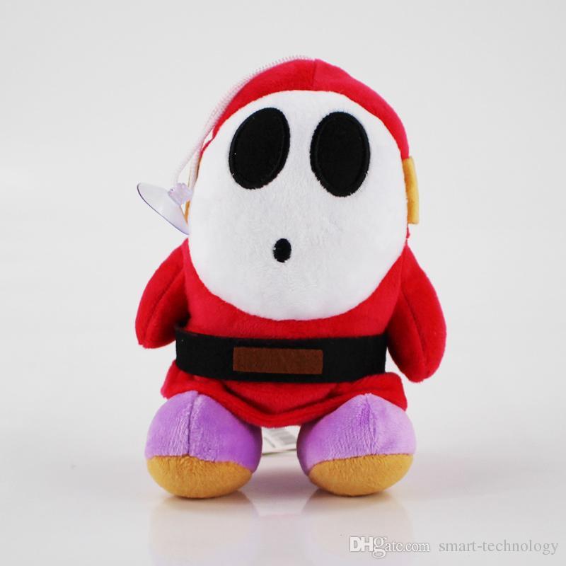 2шт/комплект застенчивый парень плюшевые куклы Супер Марио плюшевые игрушки Детские игрушки Бесплатная доставка