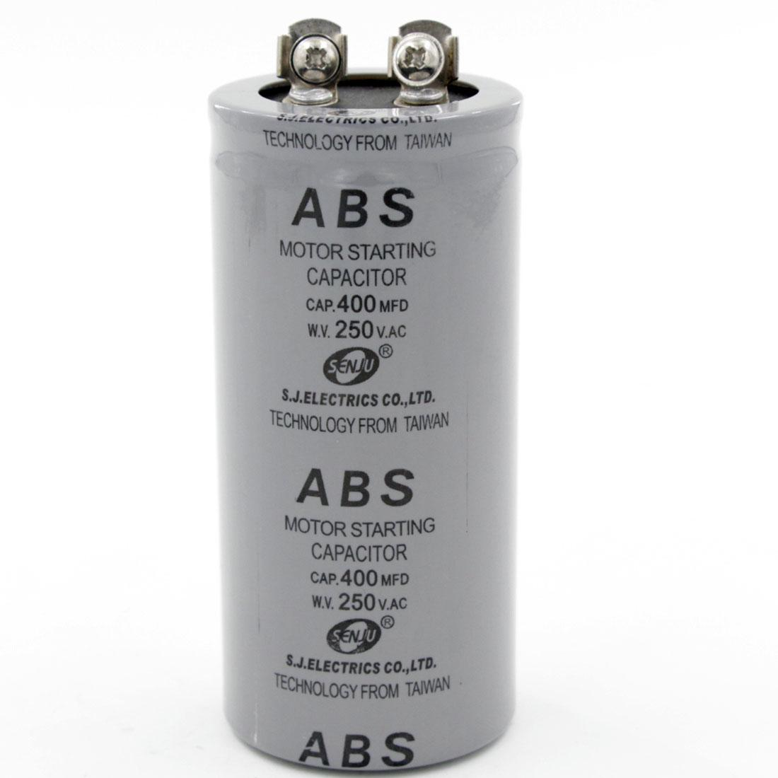 2019 250v Ac Model Abs 400uf Motor Start Capacitor High