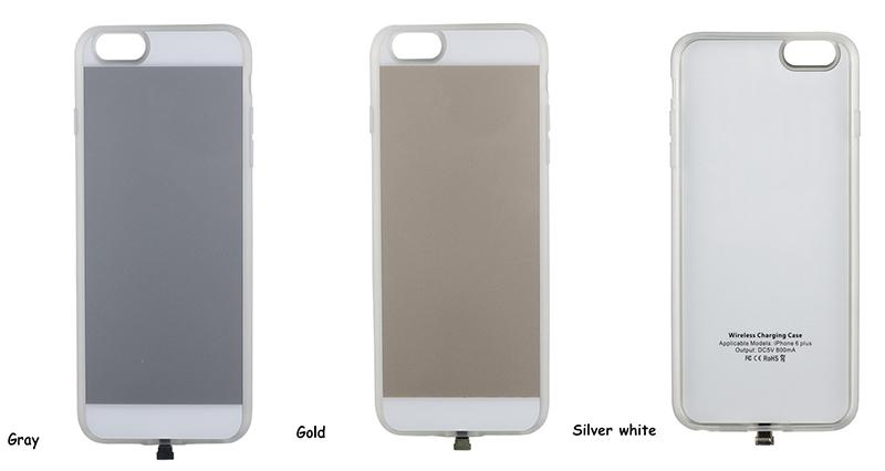 2016 New Qi Wireless Charger Receiver case for Iphone 5 Wireless Charger receiver Case for Apple iPhone5s back Cover