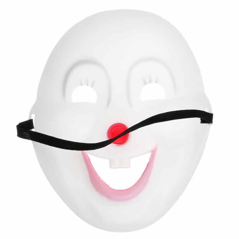 2015 Halloween Jester Jolly Máscara Dos Desenhos Animados Fontes Do Partido Festivo Venetian Mardi Gras Máscaras Para Masquerade Bolas PVC Cara Cheia Dos Homens Palhaço Máscara