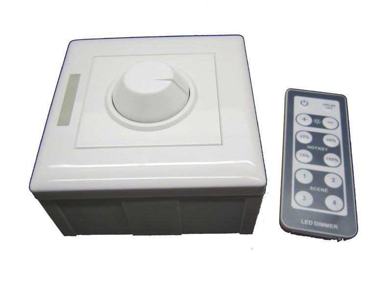 Белый постоянного напряжения из светодиодов диммер с пультом дистанционного управления 12 В-48 В постоянного тока LT-3200-6A для светодиодной полосы лампочки 5 шт. / Лот