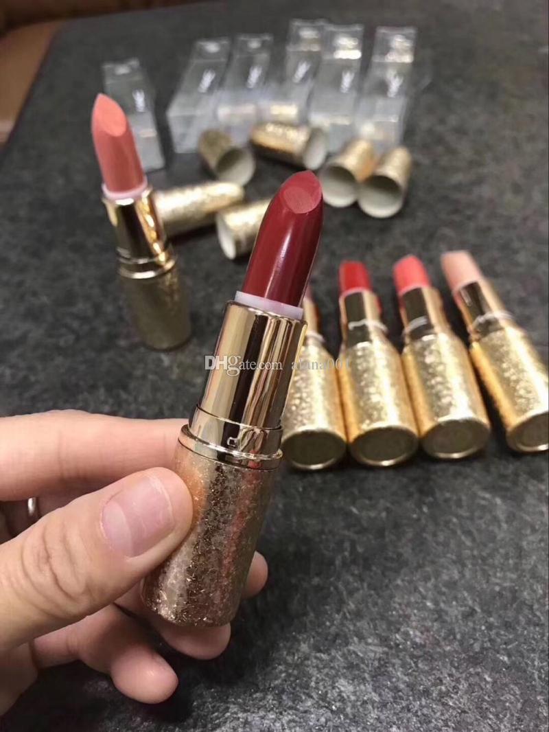 2017 NEW matte Lipstick Quality Brand Christmas limited Snowflake Matte Lipstick Makeup Luster Frost Sexy Matte Lipsticks lipsticks