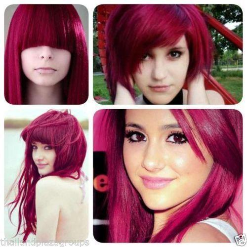 Berina Pink Magenta Hair Dye Color A24 Cream Permanent ...