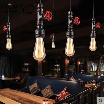 60w Retro Loft Style Vintage Industrial Lighting Edison Pendant
