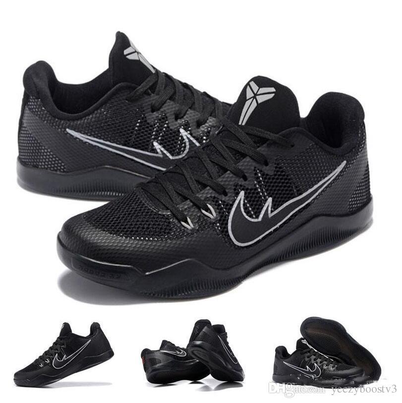 53b8f8d2989df ... low price with shoes box kobe 11 xi em elite low lblackout dark knight black  cool