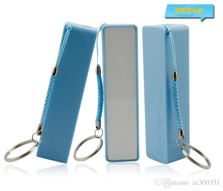 2600mAh Power Bank External Battery Backup USB Portable Cell Phone Chargers For Mobile phone multi color