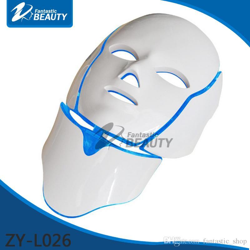 PDT Light Therapy führte Hautverjüngung Microcurrent LED-Maske für Gesicht und Hals Hautpflege Salon Spa Beauty Device