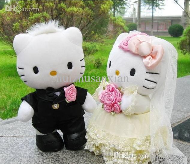 Hello Kitty Cuddle Pillow: 2019 Wholesale On Sale Wedding Couple Gifts HELLO KITTY