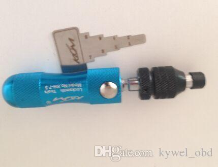 Hot Original KLOM TUBULAR 7.5 PINS LOCK PICK TOOL,Klom Tubular Tool with 7.5MM, lOCK OPENER