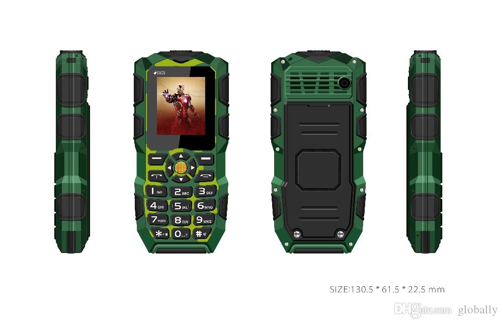 Original Oeina XP1 Quad Band Unlocked Phone 1.77 '' Dual SIM Bluetooth 2500mAh Battery Flash Light Power Bank mobile cell phone 02