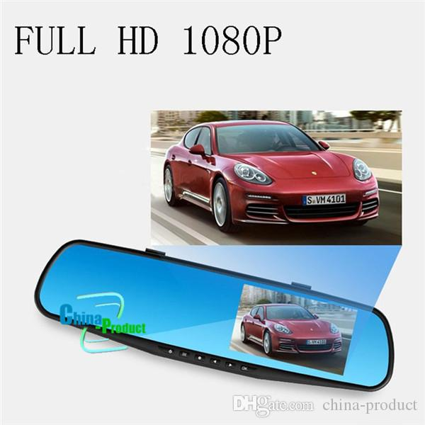 Car DVR Camera FHD 1080p Car dvrs auto Dimming Rearview mirror recording dash cam night vision Parking monitor 010230