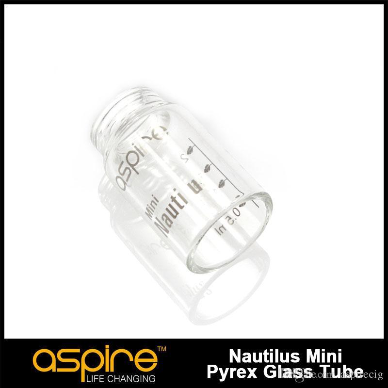 Горячие продажи Aspire Nautilus Mini стеклянный резервуар для Nautilus управления воздушным потоком стекла Мини резервуар замена трубки бесплатная доставка