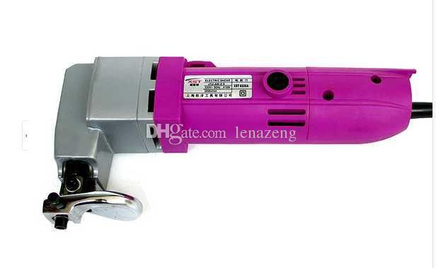 Ciseaux électriques puissants de 410W pour tôles métalliques et tôles d'acier inoxydable, cisailles électriques pour métaux, coupe-métaux