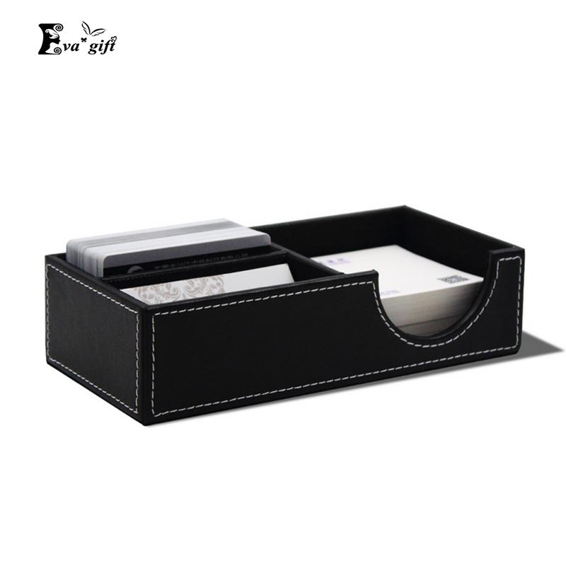 2018 office pu leather desktop card box business card key change 2018 office pu leather desktop card box business card key change notes box fashion multifunction organizer for study room q171126 from mingjing01 colourmoves