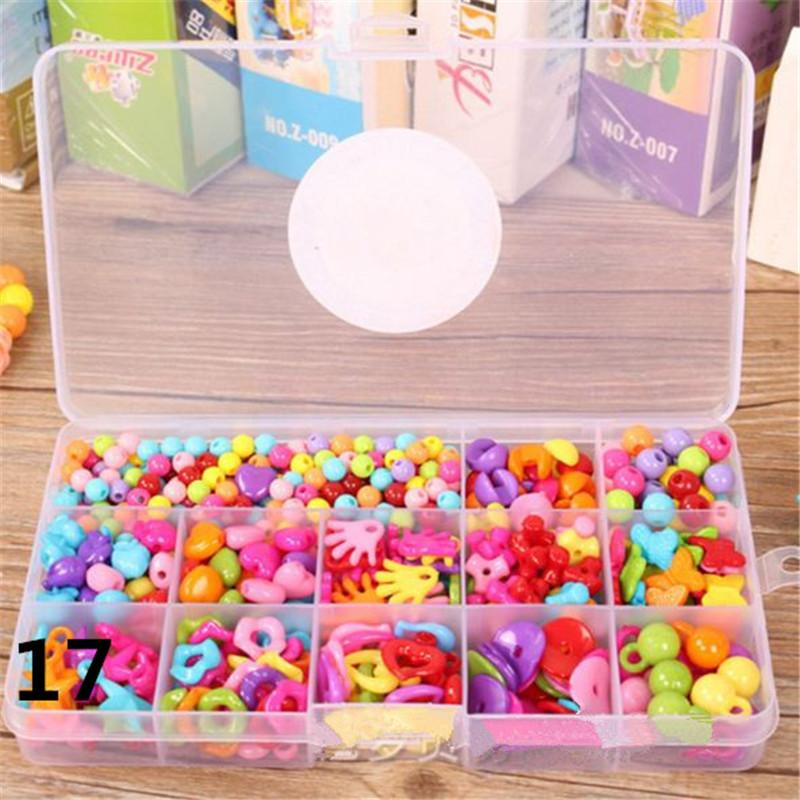 Mix 29 Style beads for charms children kid diy beads mix necklace bracelet girls jewelry accessories Christmas gifts ouc2096