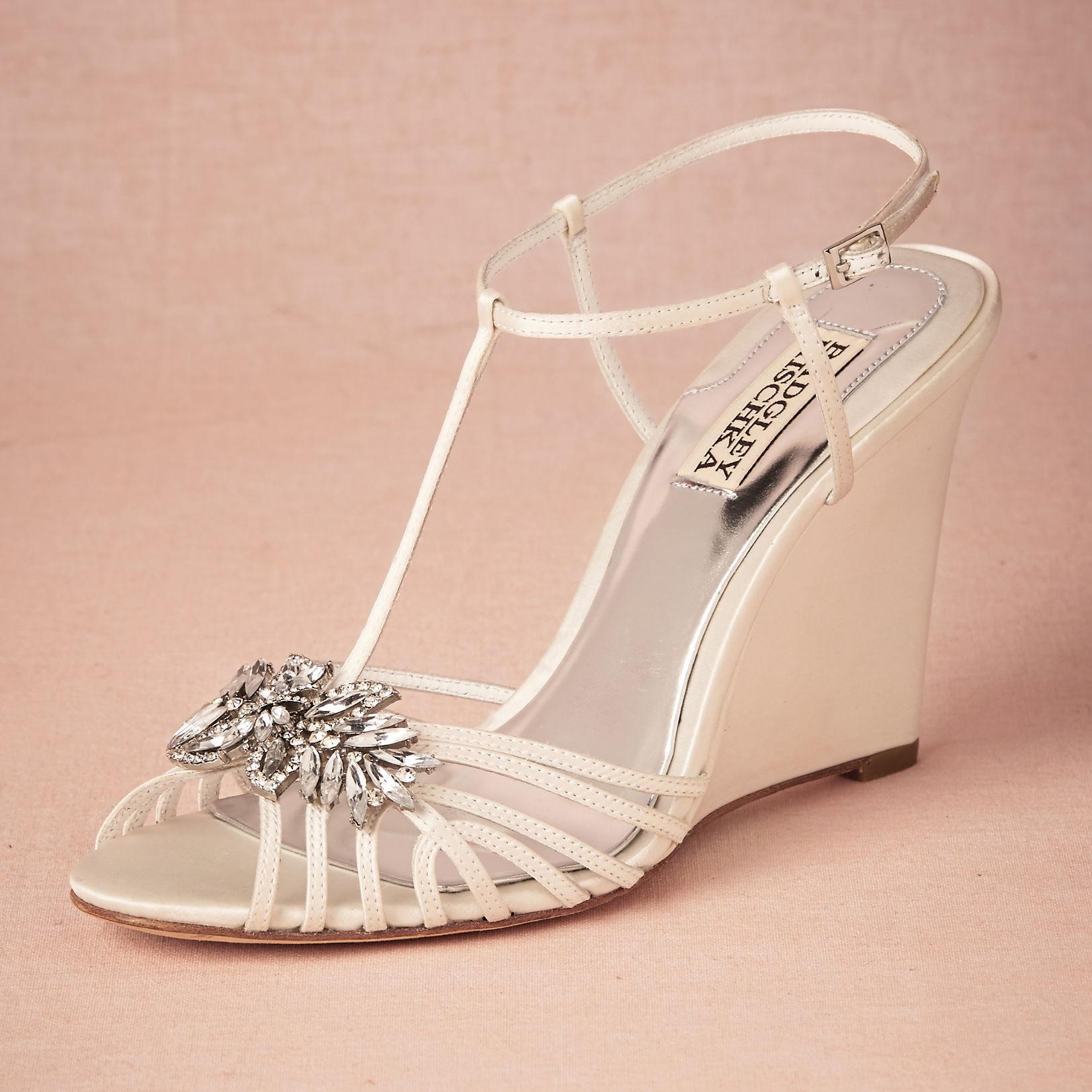Großhandel Delicate Straps Kristall Hochzeit Schuhe ...