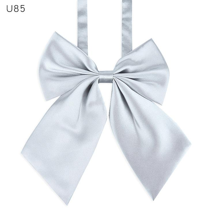 adjustable bow tie neck flower cravat neckwear dot striped adult women student girl evening party cosplay accessory