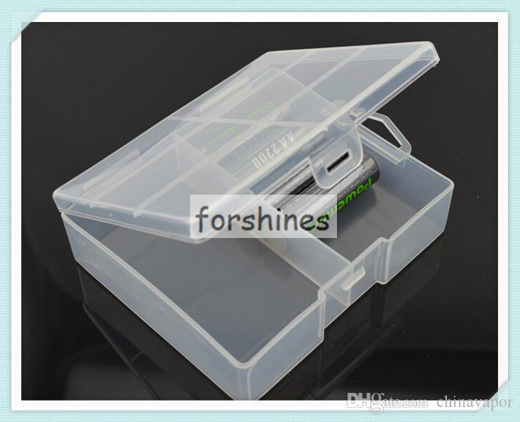2017 Hot Sale Translucent Hard Plastic Case Holder Battery Storage Box For Aa  Battery New,To Netherlands,China Stock From Chinavapor, $1.59 | Dhgate.Com