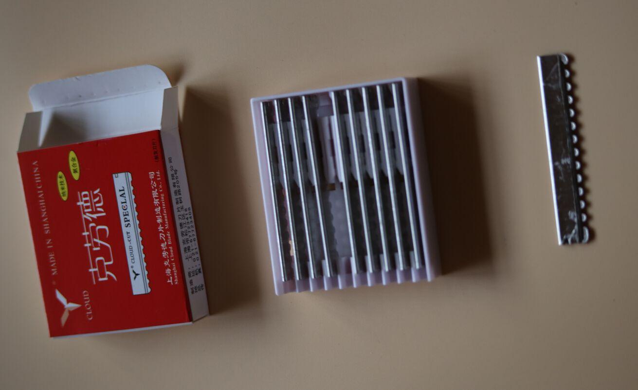 100 pièces par En Gros Nuage Cut Lames de Rasoir Spécifiques Sharp lame pour rasoir de cheveux