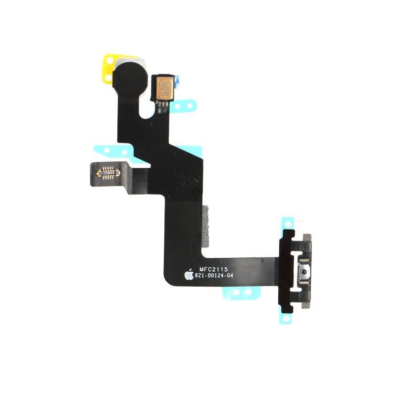 Neue Power On Off Button Flex mit Mikrofon Flash Kabel für iPhone 6 S Plus 5,5