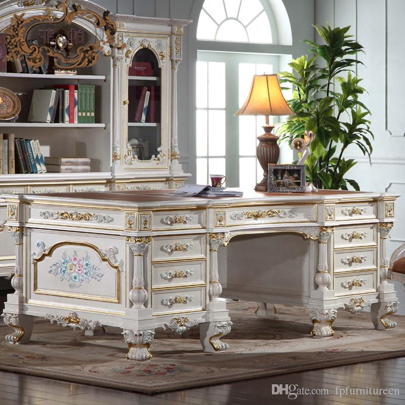 See larger image - Imperial Executive Desk,italian French Antique Furniture - Home