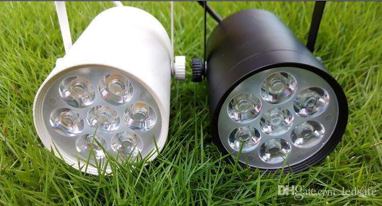 220 V 110 V 7 W Focos de Teto de Pista LEVOU Branco quente Fresco branco para Publicidade Comercial Loja de Roupas Iluminação Decoração CE ROSH