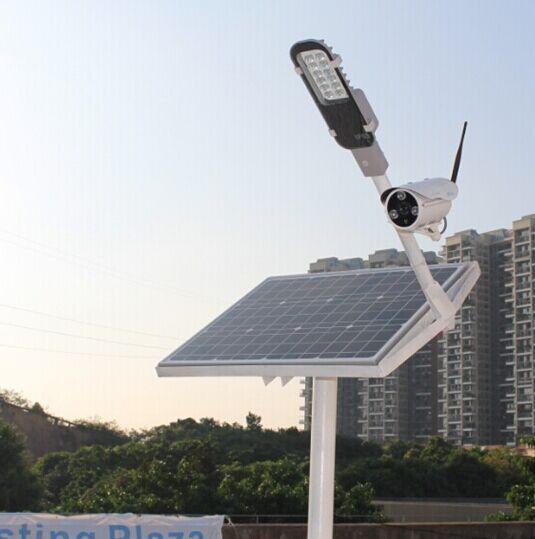 Solar Powered Streetlights… and with WiFi
