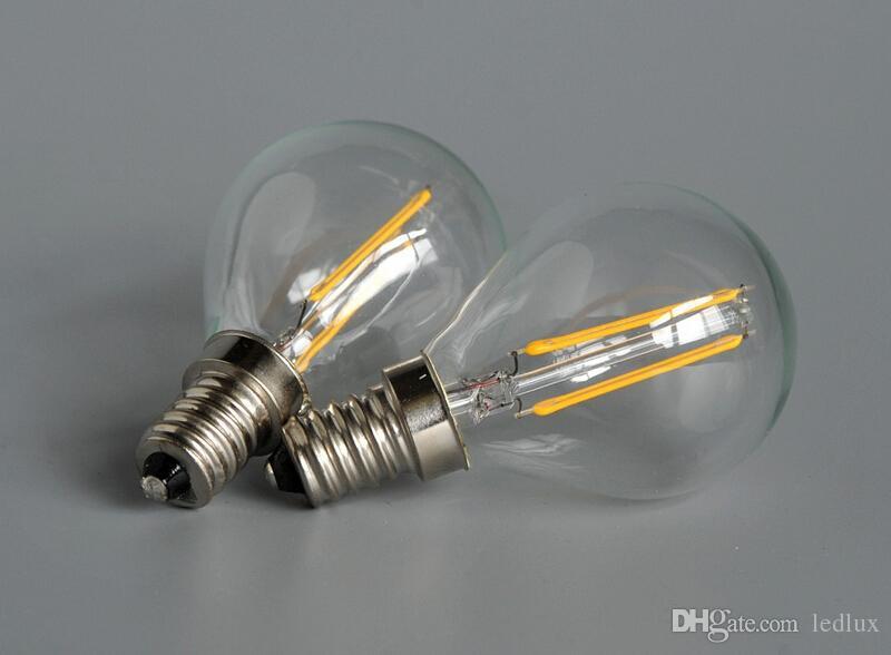 جديد أسلوب اديسون الشعيرة بقيادة مصباح شمعة 2 واط 4 واط e14 e27 b22 led المصابيح ضوء ارتفاع مشرق الدافئة الأبيض بقيادة مصباح ac 110-240 فولت