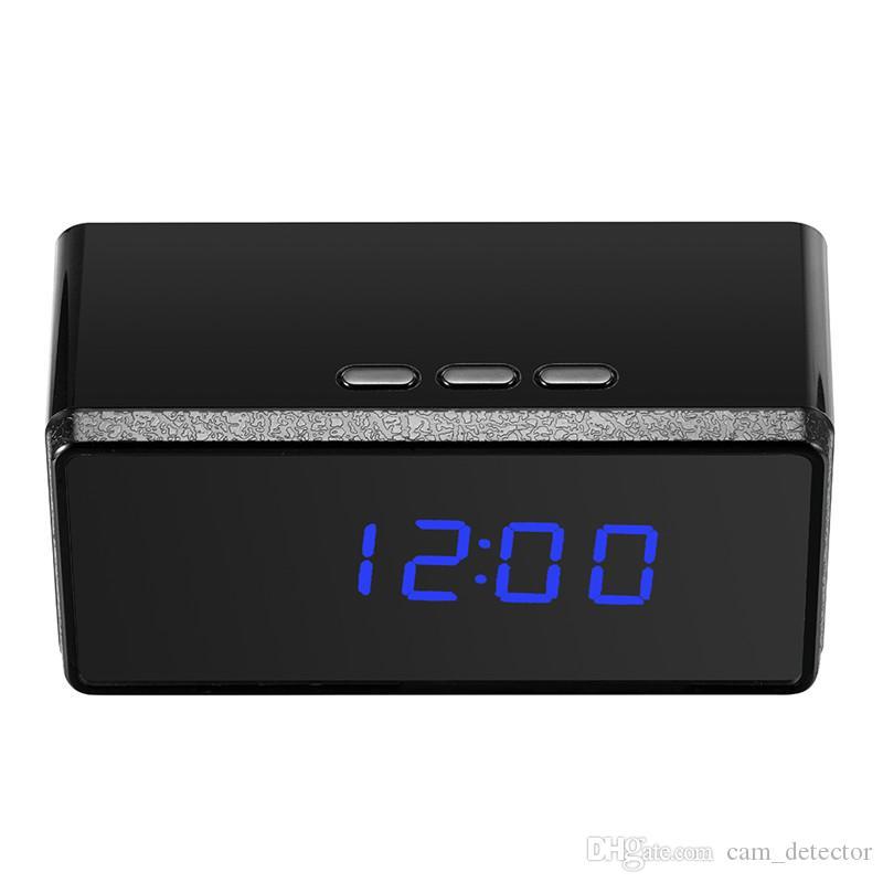 Compre Super Grande Batería Operado Mini Reloj De La Cámara Del ...