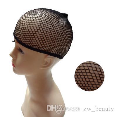 es / الكثير الأساسية hairnet ل الباروكات أسود الشعر صافي الباروكة كاب لنسج حجم الشحن تنفس نطاط النايلون الشعر لمة صنع