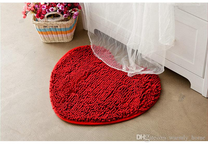 Heart Pattern Area Rugs In Door Mats Bathroom Cheap Carpets for Sale Discount with Multi Heart Shape