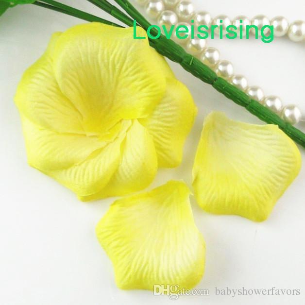 20 цветов-5 пачек 720 шт. свет коралловые высокое качество нетканые ткани искусственные розы лепесток для свадьбы пользу декор - Бесплатная доставка