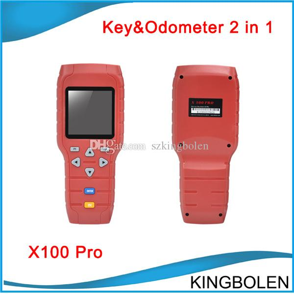 X100 X-100 Auto key programmer X 100 pro Mileage correction tool EEPROM  Chip read Tool Online Update car odometer correction by OBD cable