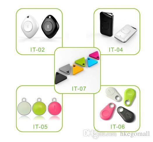 Vendita calda Remote Remote ITAG Bluetooth 4.0 Tracker Portachiavi Keychain Finder GPS Localizzatore Pratico Mini Allarme Anti-Lost bambino Portafoglio Pet