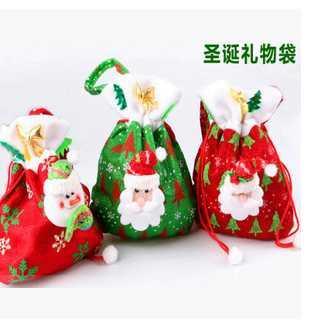 New Christmas Eve Apple Bags Christmas Gift Bags Children
