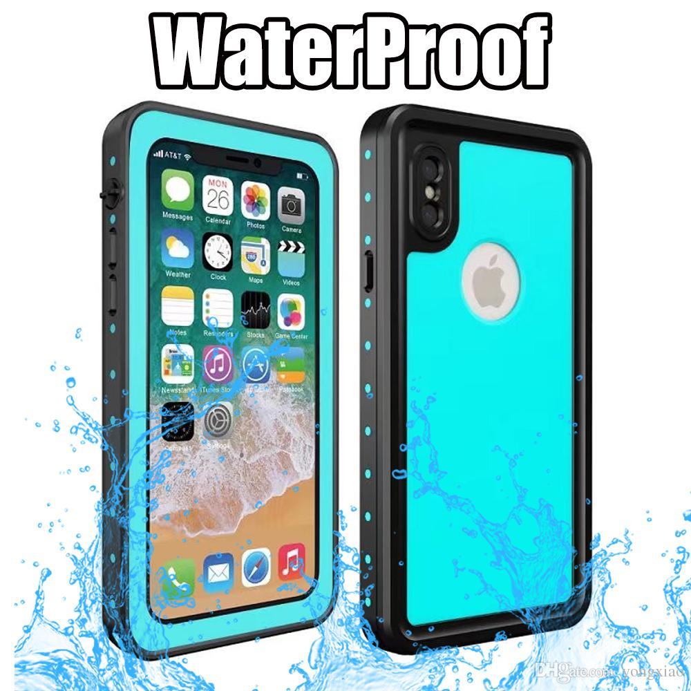 45f034572c6 Accesorios Para Celulares Armadura Impermeable Funda Para IPhone X IphoneX  Redpepper Dot Series IP68 Natación Delgado A Prueba De Polvo A Prueba De  Golpes ...