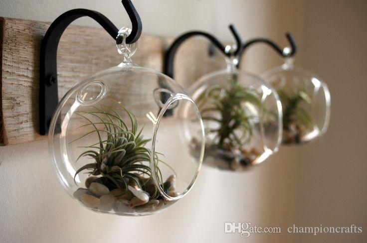 2019 Orb Terrarium Garden Planters Hanging Glass Succulent Terrarium