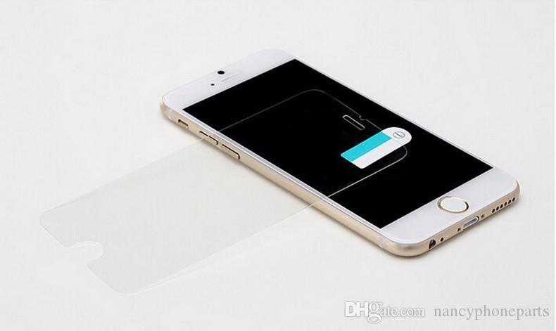 Temperli Cam Ekran Koruyucu Için iPhone 8 7 Artı 6 6 S Film Guard 9 H Sertlik Patlama Paramparça Film Koruyucu 7 artı 5 5C 5 S