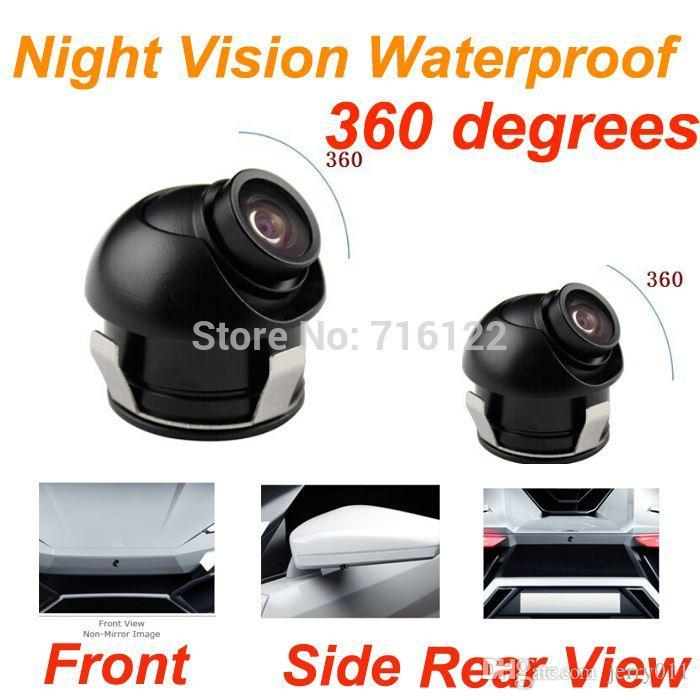 Car Dvr Ccd 360 Car Front  Side  Rear View Reverse Camera
