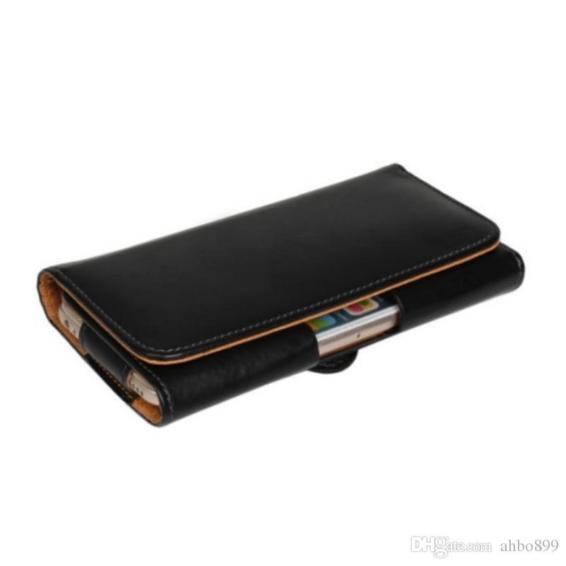 Новейшая талия чехол кобура из искусственной кожи клипса для ремня чехол для Alcatel One Touch POP D5 5038E 5038D OT-5038E телефон сумка