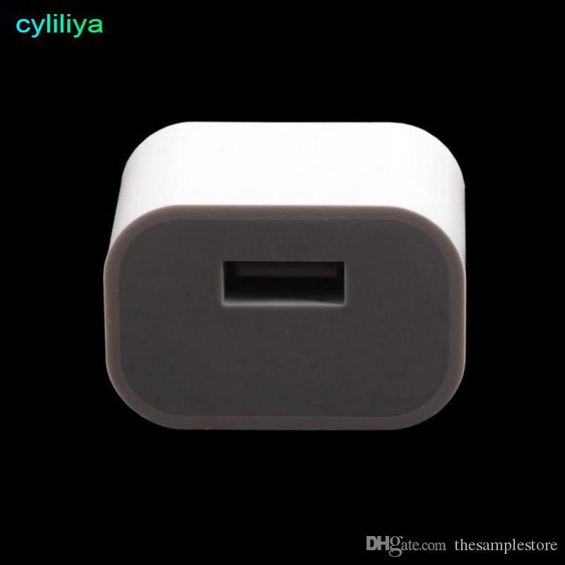 Alimentatore da parete USB universale da 5V a spina australiana Caricabatteria da viaggio CA piccolo alimentatore quadrato iPhone 7/6 Plus Samsung