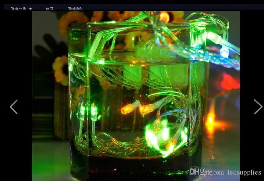 110 V ul lâmpadas de baixa tensão lâmpadas 100 leds flash 10 m luz estrelas à prova d 'água cor lustres de casamento