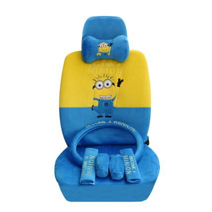 Fine New Minion Car Seat Covers Accessories Set Tl 066H Online Andrewgaddart Wooden Chair Designs For Living Room Andrewgaddartcom