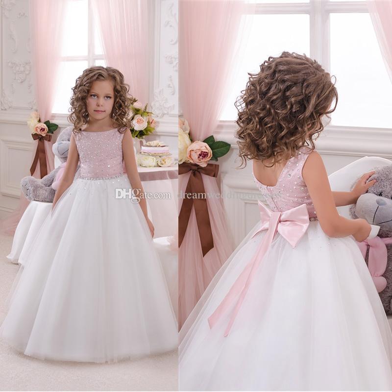 Bling Flower Girl Dresses