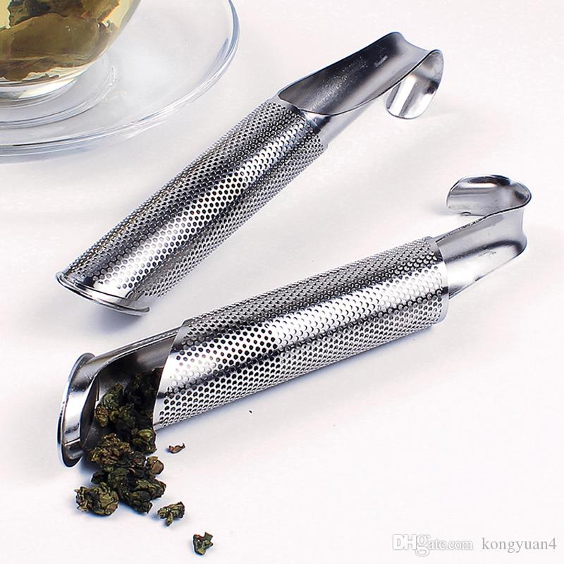 304 Stainless Steel Tea Leaf Strainer Infuser Tea Pipe Filter Sticks Good Drinkware Tools