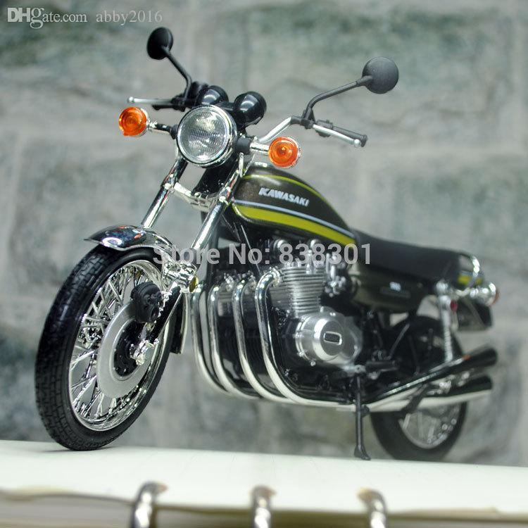 2017 1/12 scale motorcycle model toys 1972 kawasaki 900 super 4 z1