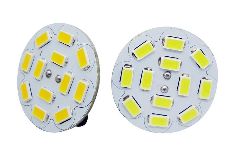 Darmowa Wysyłka 3W 4W G4 9 SZTUK 12 sztuk 5730 SMD White / Ciepła Biała Żarówka LED Żarówka