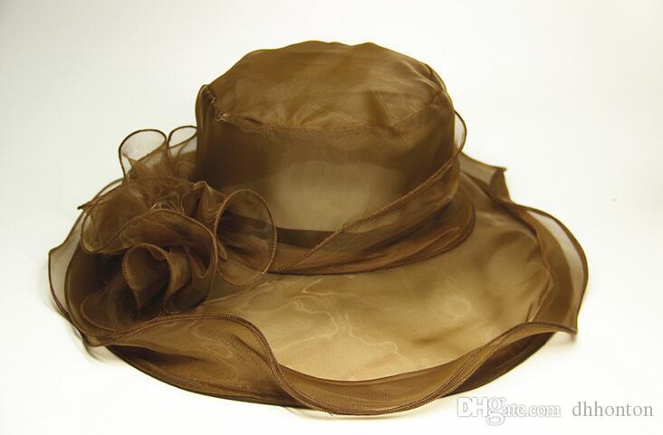 Chapéu da igreja para o casamento chapéu de ocasião do derby de Kentucky Moda chapéu de noiva acessórios para o cabelo partido forma ware HT48