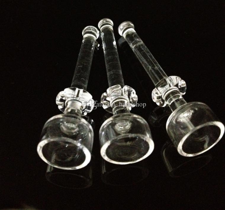 Andere Raucherzubehör DOGO 10mm / 14mm / 18mm Domeless GOG Quarz Nagel für Glasbongs Öl Rigs Wasserleitungen